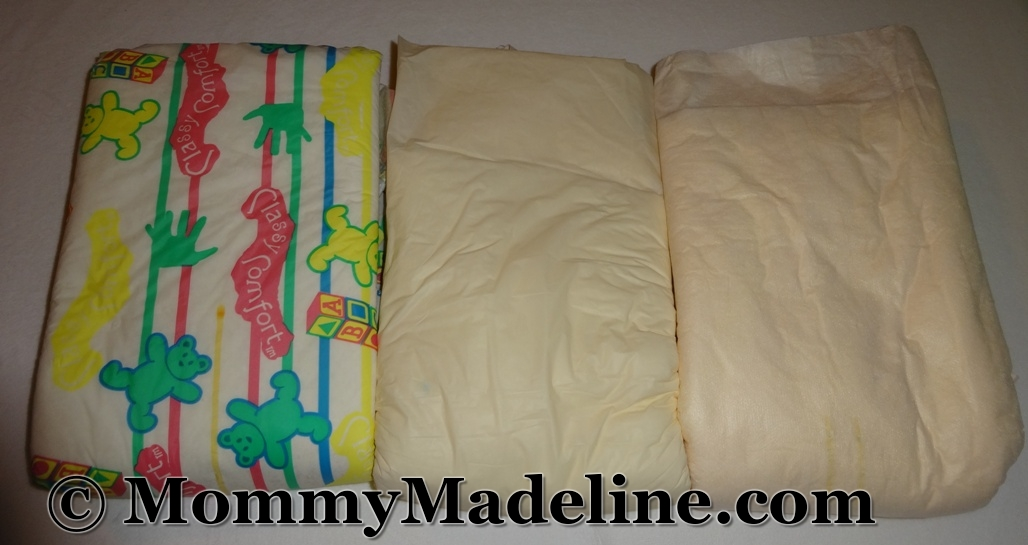 Who remembers Classy Comfort diapers?