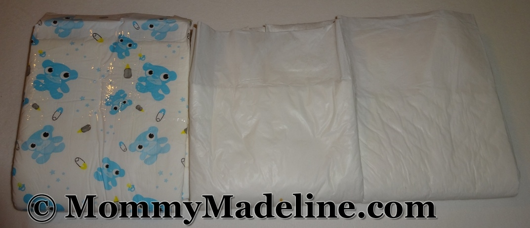 Aww So Cute blue is just one of the diaper styles in my disposable diaper collection