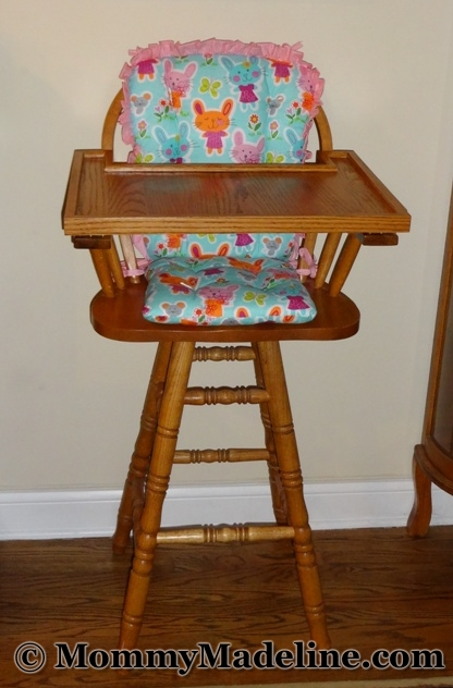 adult baby high chair with cushions