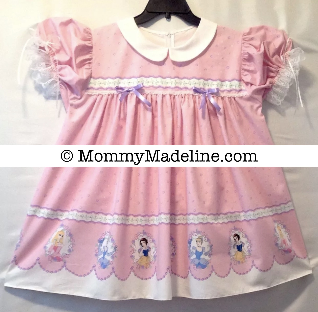 A pretty pink sissy baby dress