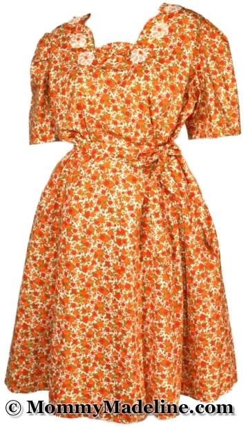 Vintage AB/DL Mommy Dress