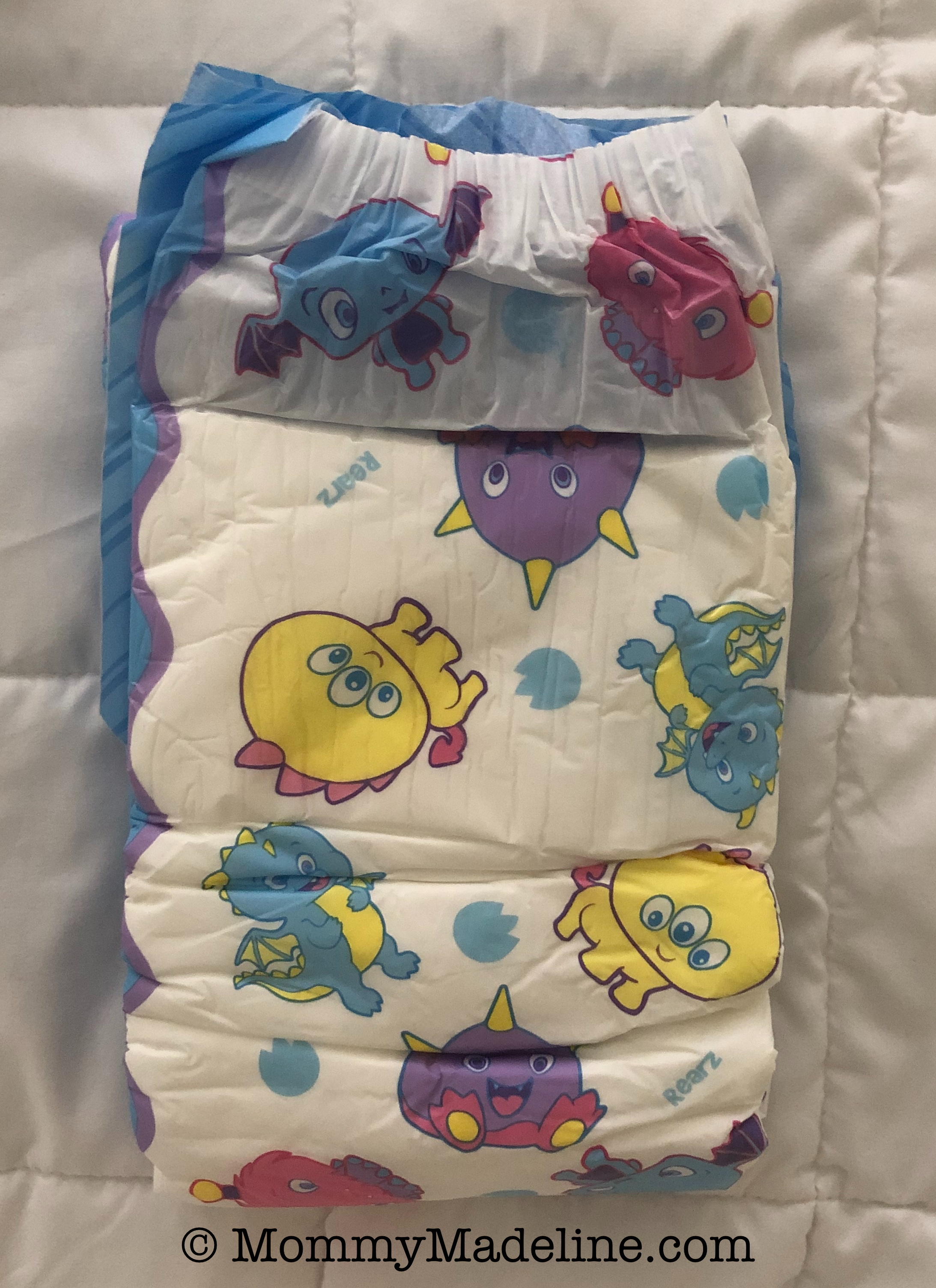 Rearz Lil Monsters diaper
