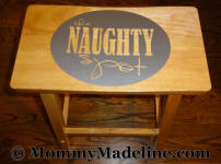 Adult Baby Timeout Stool